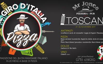Giro d'Italia in Pizza – Toscana